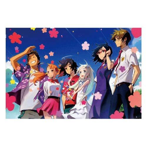 Ybjsy Puzzle en bois Anime personnages du jeu Honma Meiko...