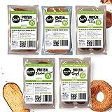 BenFit High Protein Test-Paket (1 Toast, 2 Brötchen, 2 Laugenstangen, 2 Bagels und 1 Panini)