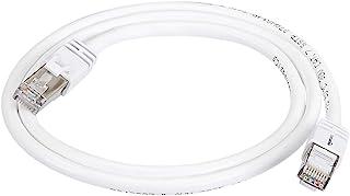 Amazonベーシック パッチインターネットケーブル ギガビットイーサネット ハイスピード RJ45 Cat 7 ホワイト 約0.9m