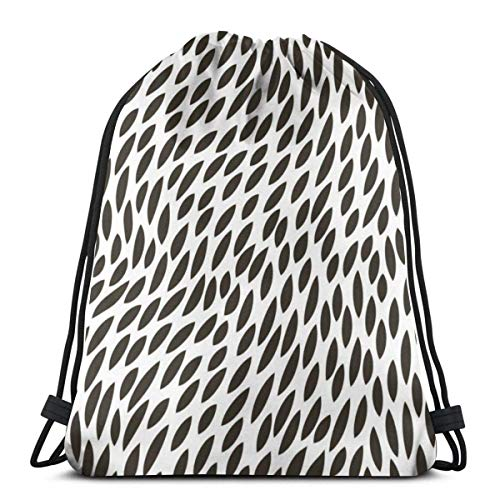 BXBX Bags Abstract Abstract Pattern Drawstring Bag Rucksack Bags for Sports, Shopping, Travel, Yoga, Gift Goodie Bags
