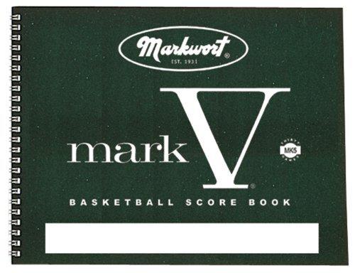 Markwort Mark V Basketball Scorebook 30 Games by Markwort