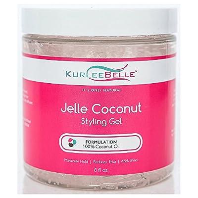 Kurlee Belle Jelle Coconut Styling Gel 8oz