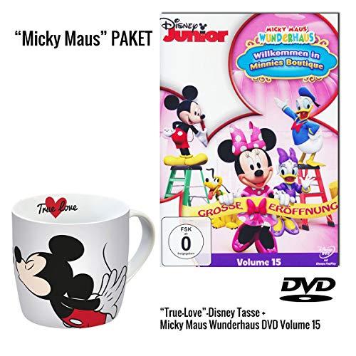 Micky Maus Wunderhaus Volume 15: Willkommen in Minnies Boutique DVD + Micky Maus Tasse