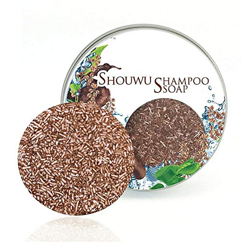 Organic Natural Grey Reverse Shampoo Bar-100% Natural Organic Conditioner and Repair Care, Essence Hair Darkening Shampoo Soap,Essence Hair Growth & Darkening Shampoo Soap (3 Pcs)