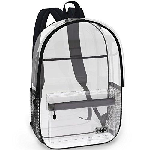 Super Heavy Duty Clear Bookbag