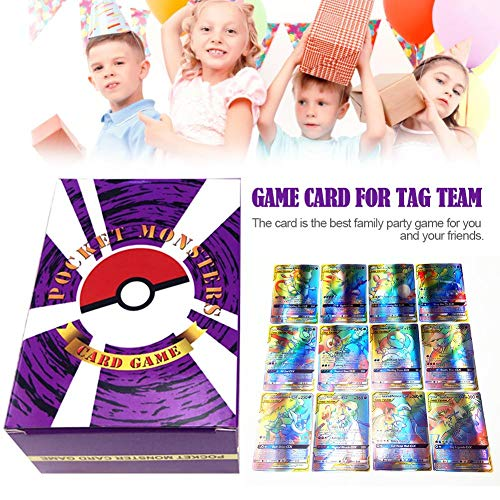 Tarjeta de Juego, Pokémon Tarjeta de Juego Pokémon English Flash Card Pokémon Battle Card Puzzle Game Card Animation Game Card
