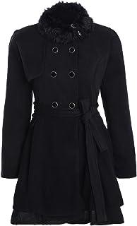 cba67c2412c Amazon.com  4X - Wool   Blends   Wool   Pea Coats  Clothing