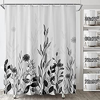 Best grey shower curtains Reviews