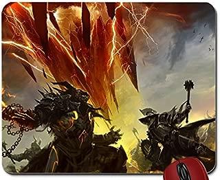 video games battle guild wars fantasy art artwork guild wars 2 kekai kotaki 2560x1920 wallpaper mouse pad computer mousepad