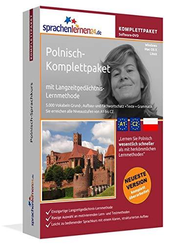 Polnisch Sprachkurs: Fließend Polnisch lernen. Lernsoftware-Komplettpaket