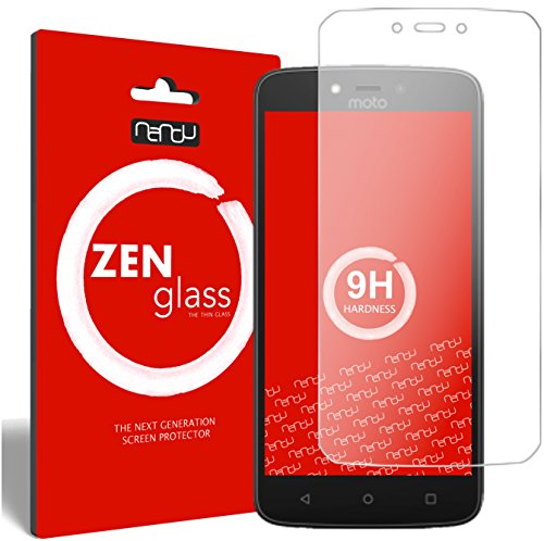 ZenGlass Flexible Glas-Folie kompatibel mit Lenovo Moto C Plus Panzerfolie I Bildschirm-Schutzfolie 9H