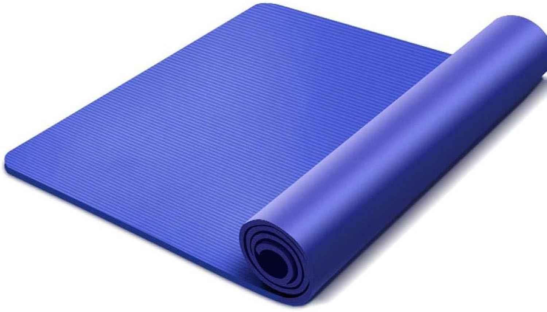 TSANG Yoga Matte Groe Gre 183  80  10Mm rutschfeste Yoga Matten 10Mm Für Sport Yoga Matte übung Gymnastikmatte High Bounce