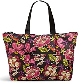 Collapsible Tote in a Pouch in Pirouette Pink