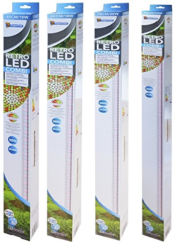 SuperFish 60397/3456 SuperFish Aquarium LED-verlichting Retro Combi, aquarium LED Retro: 21 watt / 100 cm