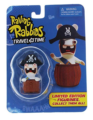 Raving Rabbids 'Travel in Time' Collectible Figurine - 'Pirate'