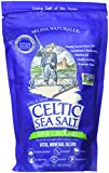 Fine Ground Celtic Sea Salt – (1) 16 Ounce Resealable Bag of Nutritious, Classic Sea Salt, Great...