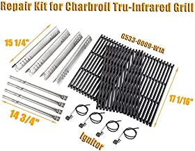 PETKAO Repair Kit Replacement for Charbroil Tru-Infrared 463242715, 463242716, 463276016, 466242715, 466242716, 466242815, 466242515,G533-0009-W1A