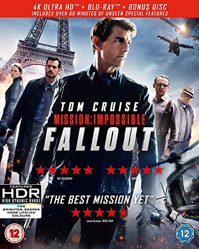 Mission: Impossible - Fallout [Blu-Ray] [Region Free]