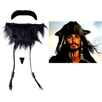 CAPITAN JACK Sparrow-Maschera di carta-Pirati dei caraibi-la spedizione gratuita!!!