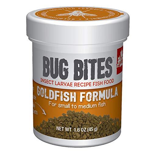 Fluval Bug Bites Goldfish Fish Food, Granules for Small to Medium Sized Fish, 1.6 oz., A6583