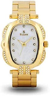 Sunex Women's Watch Analog Gold Stainless Steel White Dial S0380GW