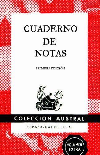 Cuaderno de notas rojo 11,2x17,4cm (AUSTRAL EDICIONES ESPECIALES)