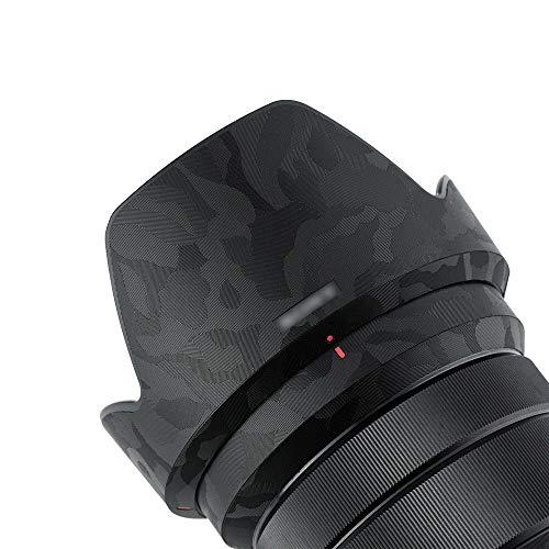 Schutzfolie für Sony E PZ 18–105 mm f/4 G OSS Objektiv – 3M Aufkleber, Schutzfolie, Shadow Black Decals