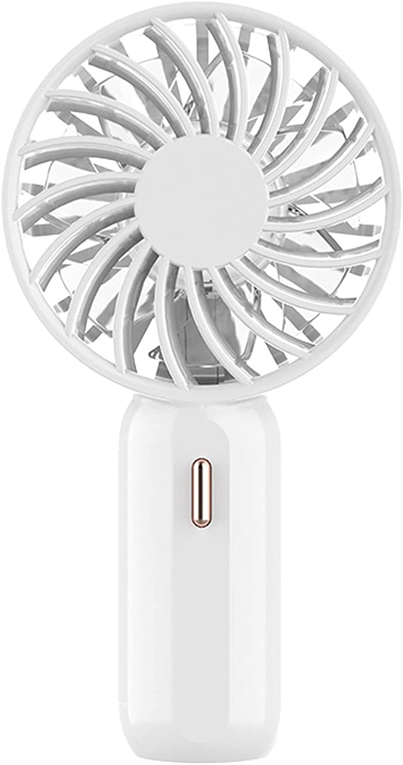 Mini Handheld Fan USB Chargeable famous with Colorful Chicago Mall Portable Nigh