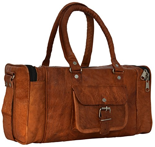 Fototasche Kameratasche Handtasche Ledertasche Braun Leder Vintage