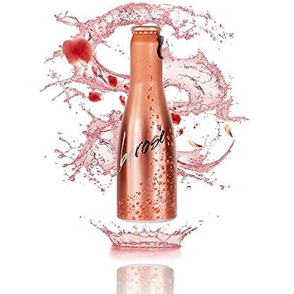 JUST-BE-Rose-Piccolo-frizzante-l-Prickelnder-Premium-Rose-Wein-Aperitif