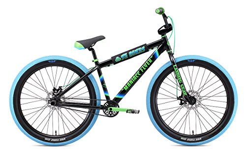 SE Bikes Maniacc Flyer 27.5R+ BMX Bike (41cm, Black)