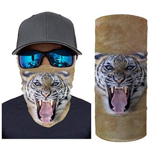 N/X multifunctionele doek model tijger in paard sport handdoek sjaal muts Baotou