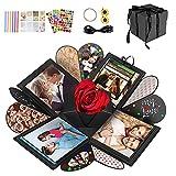 Punvot Explosionsbox, Kreative Explosion Box, Uberraschungsbox, Explosion Box, Kreative Geschenk Box, Fotoalbum Geburtstag, DIY Geschenk, Freunde Liebhaber Jahrestag Hochzeit