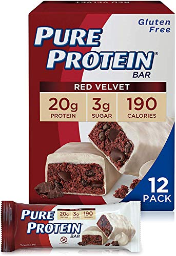 Pure Protein Bars, High Protein, Nutritious Snacks to Support Energy, Low...