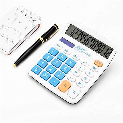 Eletam Calculadora científica con Pantalla JL837S-C Calculadora de Escritorio de Oficina con Pantalla Grande y Doble Potencia de Bolsillo
