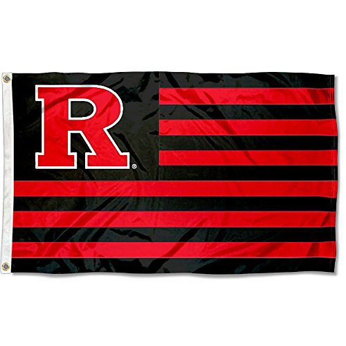 College Flags & Banners Co. Rutgers Scarlet Knights Stars and Stripes Nation Flag