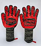 Dragon Knuckle Heat Resistant BBQ Gloves New and Improved to Withstand 1472ºF - Grilling Barbecue...