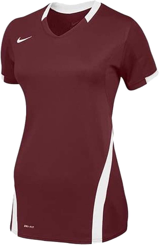 veredicto Factibilidad Evaluable  Amazon.com : Nike Women's Ace Short Sleeve Volleyball Jersey : Clothing