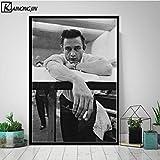 PCWDEDIAN Kunstplakat Johnny Cash Poster Und Drucke
