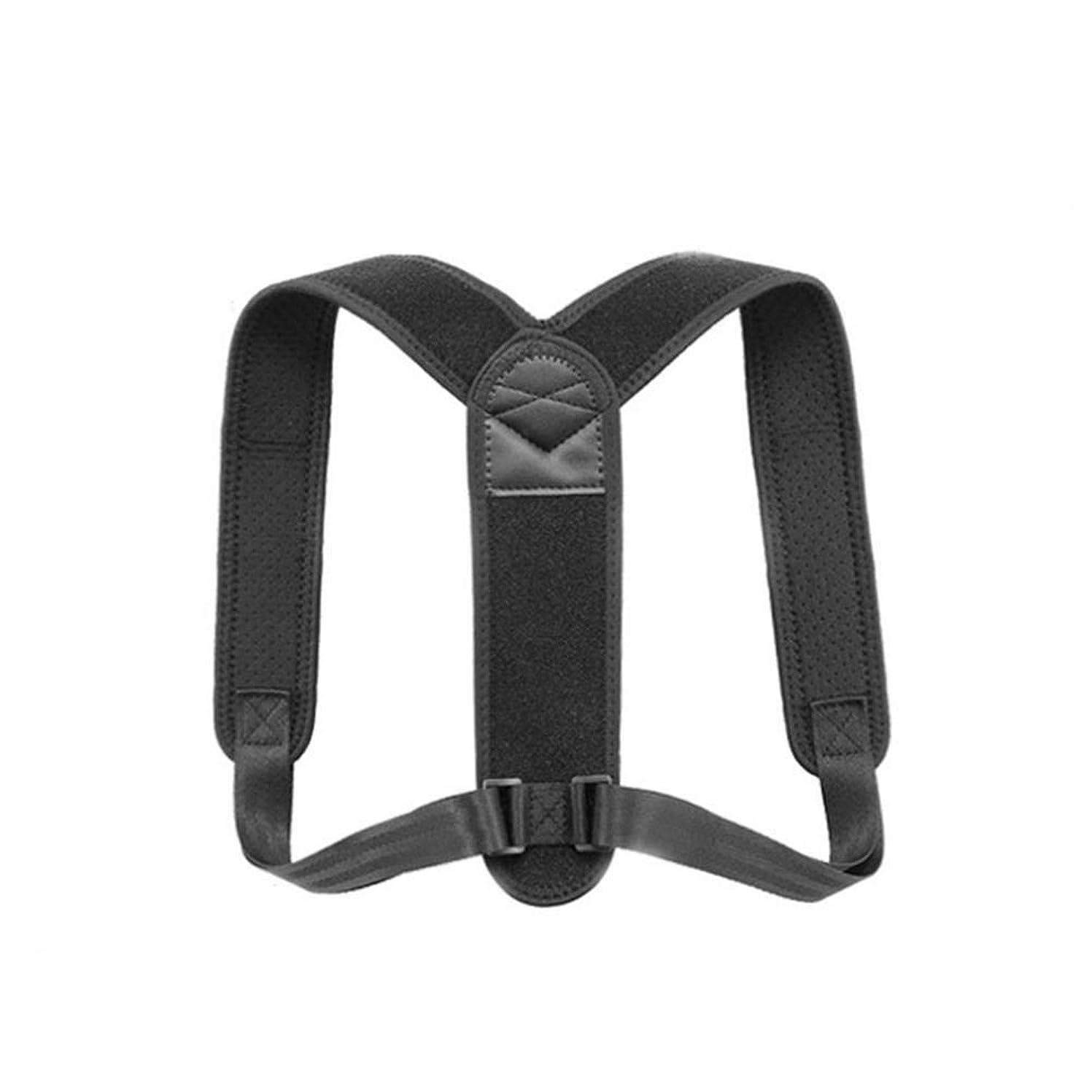 活力距離インペリアルBrill(ブリーオ)姿勢矯正器姿勢トレーナーストレイテナー体に関連した健康で直立した姿勢のための通気性の平らな鉄男性、女性、子供のための背中と肩の痛み調節可能なサイズ