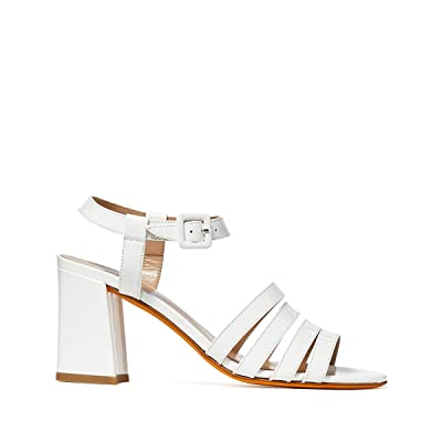 Maryam Nassir Zadeh Palma High Sandal (White) Women