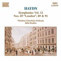 ハイドン:交響曲第69, 89, 91番