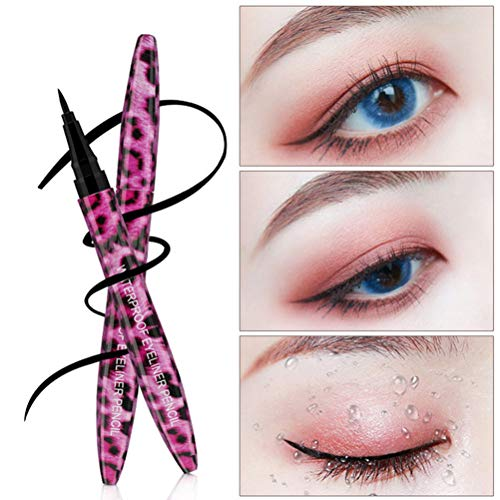 Yeux Maquillage Eyeliner Crayon Aiguiser Liquide Étanche Léopard Eye Liner Professionnel Eyeliners Stylo Cosmétique Outil