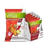 Vega Protein Crisps Sweet Chili (12 Count, 1.6 Oz bag) - Vegan, Gluten...