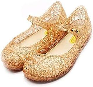 db901d2692558b CXIJZKJ Baby Girls Mary Jane Jelly Bird Nest Cosplay Shoes Kids Toddler Girls  Shoes
