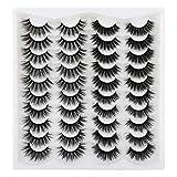 Yawamica Eyelashes 20MM Lashes Pack