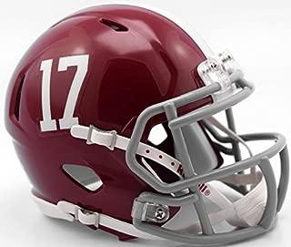 2017 National Champions Alabama Crimson Tide Mini Speed Helmet #17