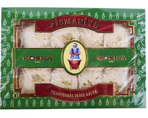 Turkse lekkernijen, Pismaniye, met pistache 250g