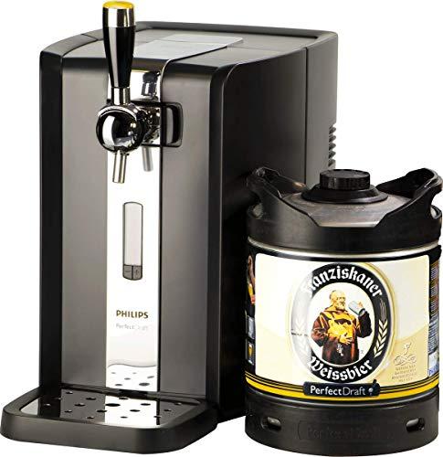 Grifo de cerveza PerfectDraft. Incluye 1 barril de 6 litros (Franziskaner Weissbier) - Regalo ideal