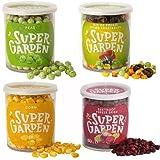 Super Garden caja de snacks de vegetales - Vegetales liofilizados - Snack saludable - Producto 100% puro y natural - Sin azúcares, aditivos artificiales ni conservantes añadidos - Sin gluten